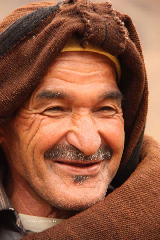 Local Man Mountain Village, Morocco. By Linda Thomson
