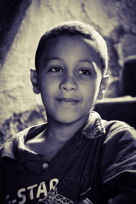 Local boy, Marrakech, Morocco. Taken by Linda Thomson