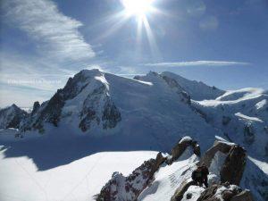 Mont Blanc, Chamonix. Taken by Linda Thomson