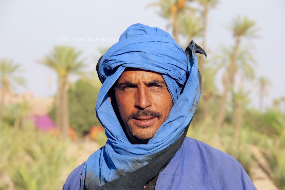 Moroccan man traditional clothing. By Linda Thomson