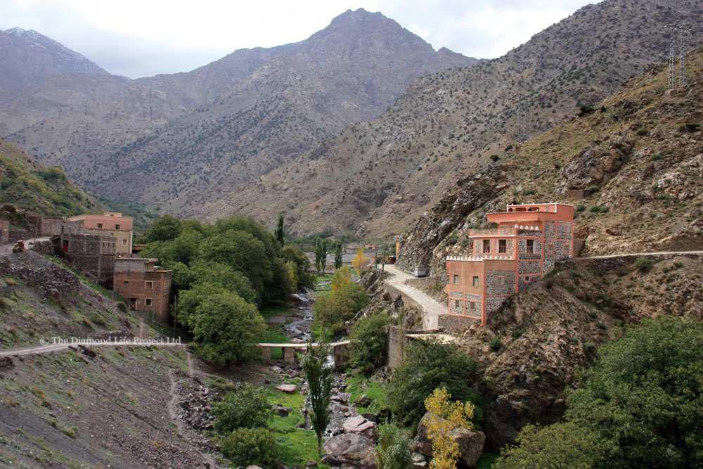 Mountain Village, Morocco. Taken by Linda Thomson
