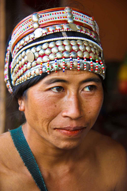 Woman in Local Village Laos. Taken by Linda Thomson